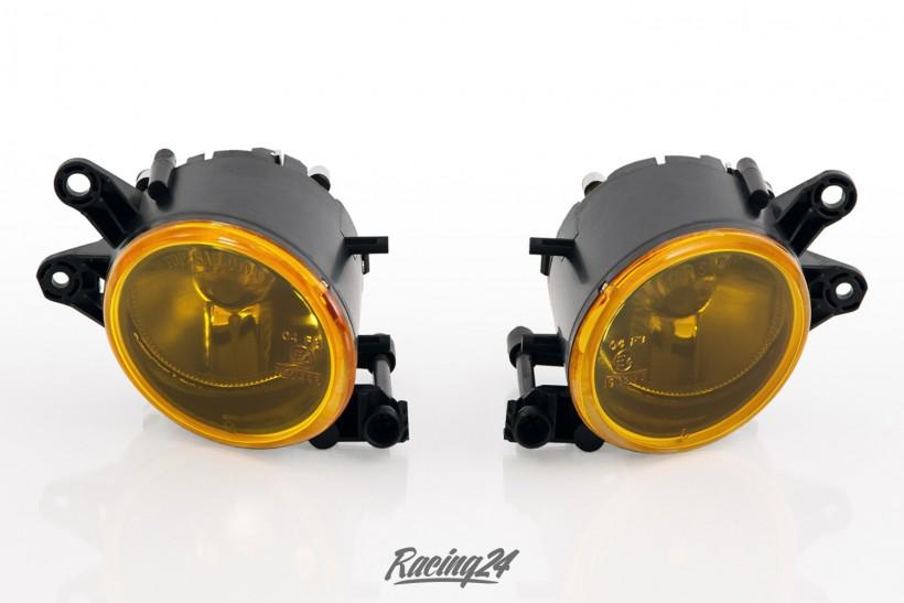 Nebelscheinwerfer Set, gelb, Klarglas für Audi A4