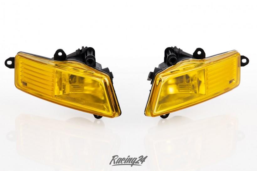 Nebelscheinwerfer Set, gelb, Klarglas für Audi A6