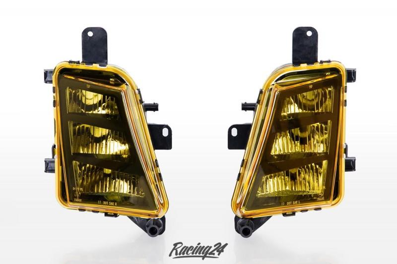 LED Nebelscheinwerfer Set, gelb, Klarglas