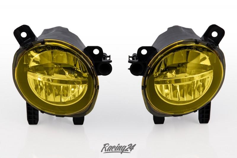 LED Nebelscheinwerfer Set, gelb, Klarglas für BMW F20, F30, F31, F34