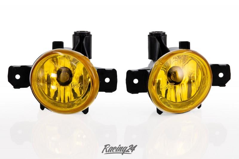 Nebelscheinwerfer Set, gelb, Klarglas für BMW E87 E87 E84 E83 E70