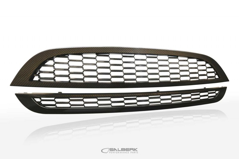 salberk performance GRMBLC - Frontgrill in Carbon Optik