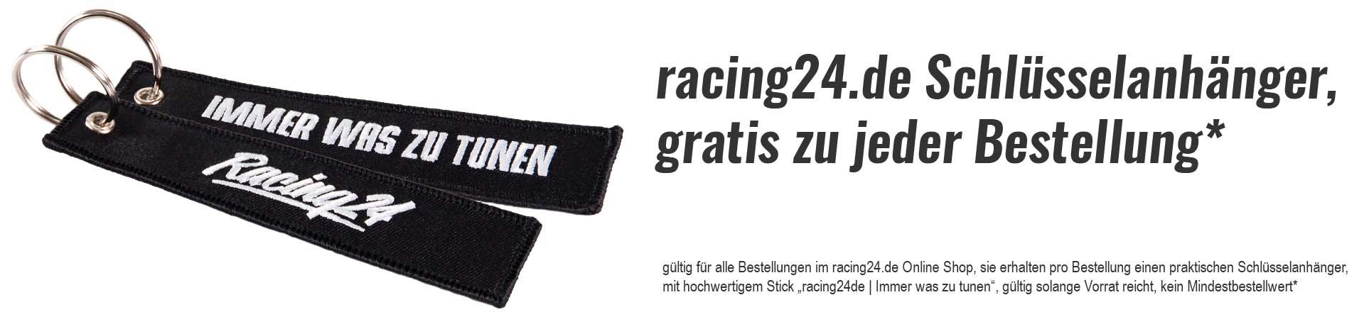 Gratis racing24.de Schlüsselanhänger mit jeder Bestellung